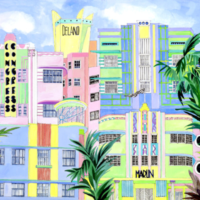 Art Deco - South Beach