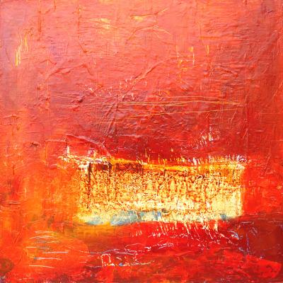 John Baran-- 1, Baja, 2012, 30 x 30 in., acrylic on canvas -- $2,600.00