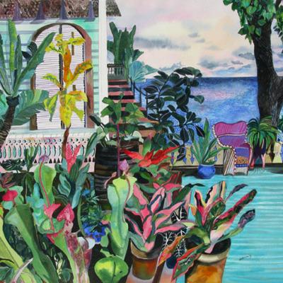Bromeliads Porch