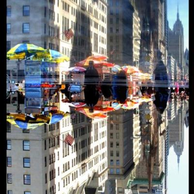 Joe Rubin-- Floating on Fifth, limited edition 4/10, 40 x 30 in. (custom sizes available), digital inkjet print -- $3,800.00