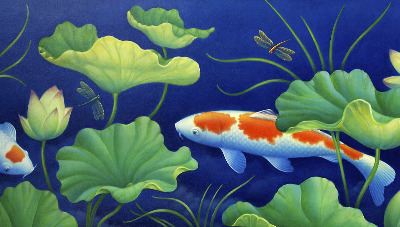 Quietly Koi